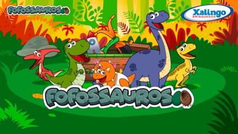 Tem vídeos novos dos Fofossauros!