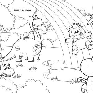 Atividades para imprimir dos Fofossauros (parte 2)