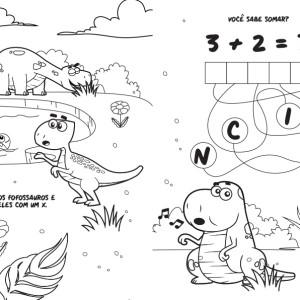 Atividades para imprimir dos Fofossauros (parte 1)