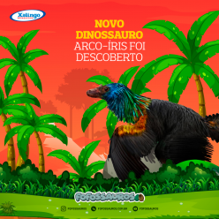 Novo dinossauro arco-íris foi descoberto