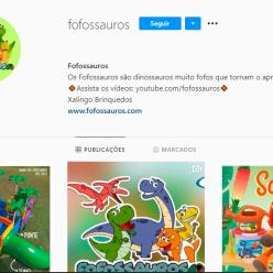 Siga os Fofossauros no Instagram!