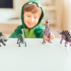 Os cientistas encontraram uma coisa diferente neste dinossauro